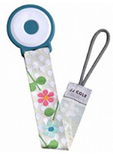 Tomy International Pacifier Clip Aqua Girl