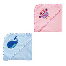 Baby Vision Hooded Towel Embroidery Applique