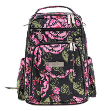 Ju-Ju-Be Classic Be Right Back,Backpack Diaper Bag Blooming Romance