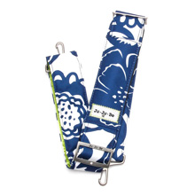 Ju-Ju-Be Classic Messenger Strap Cobalt Bloosoms