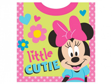 Hamco Disney Minnie Fiber Reactive Toddler Bib