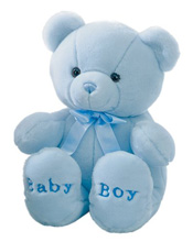 "Aurora Comfy Baby Bear Stuff Animal 18"" Boy"