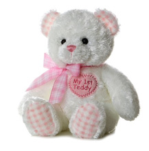 Aurora My 1st Teddy Girl Pink