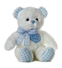 Aurora My First Teddy Boy Blue