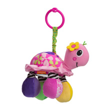 Infantino Topsy Turtle Mirror Pal Pink