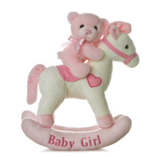 Aurora Musical Rocking Horse Girl