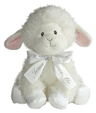 Aurora Blessing Wind Up Musical Stuff Animal Lamb
