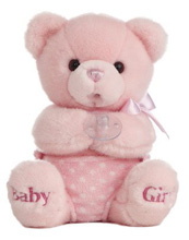 Aurora World Plush Comfy Diaper Musical Girl