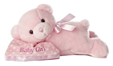 "Aurora Comfy Girl Sleeping Musical 12"" Plush"