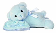 "Aurora Comfy Boy Sleeping Musical 12"" Plush"