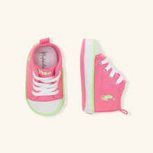 Polo Ralph Lauren Harbour Hi Top Sneaker Pink