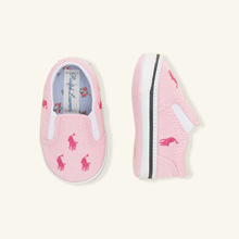 Ralph Lauren Layette Bal Harbour Repeat Shoe Pink