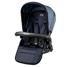 Peg Perego Book Team 2nd Seat Stroller Horizon-Light Blue & Dark Blue