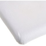 Kids Line Easy-Fit Cradle Sheet White