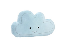 Crown Craft Nojo Happy Little Clouds Plush Pillow