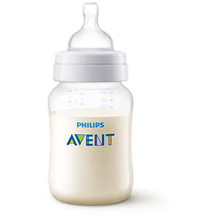 Phillips Avent Anti-Colic Bottle 9oz Clear