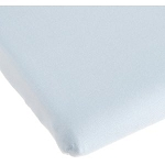 Kids Line Easy-Fit Porta Crib Sheet White