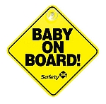 Safety 1st? Baby on Board Sign