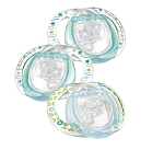 Tommee Tippee Closer to Nature® Assorted Silicone Pacifier 0-3m BPA Free 3pk