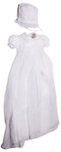Karela Kids Christening Gown Girl with Bonnet