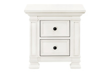 Million Dollar Baby Tillen Classic Nightstand Dove