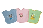 Baby King Mickey Mouse Double Terry Bib