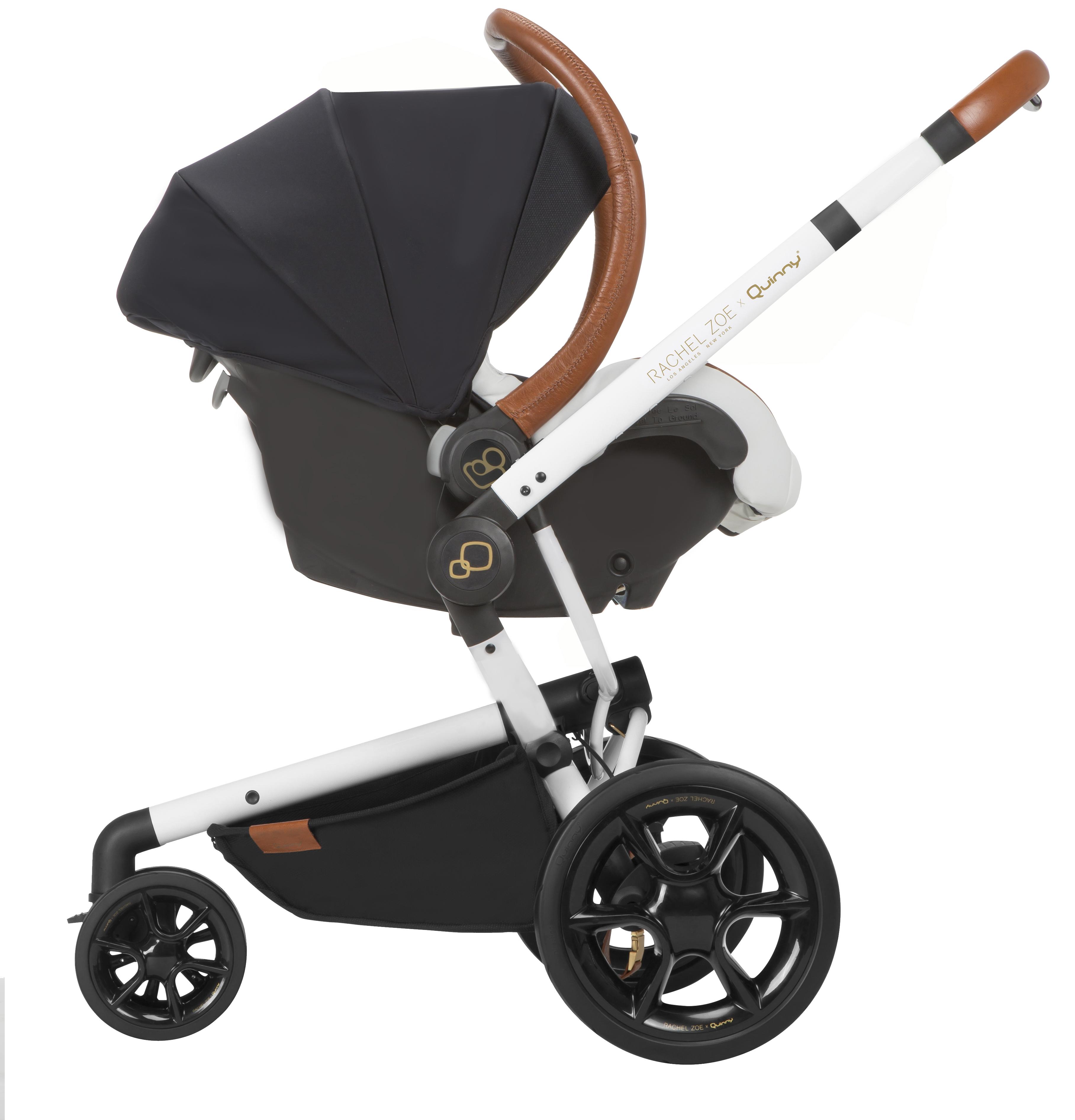 Quinny Moodd Stroller by Rachel Zoe, Jet Set - Ideal Baby
