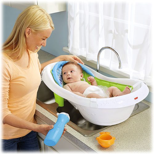 Fisher Price 4 In 1 Sling N Seat Grow With Me Tub Ideal