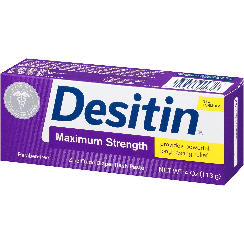 Desitin Maximum Strength Diaper Rash Paste 4oz Ideal Baby