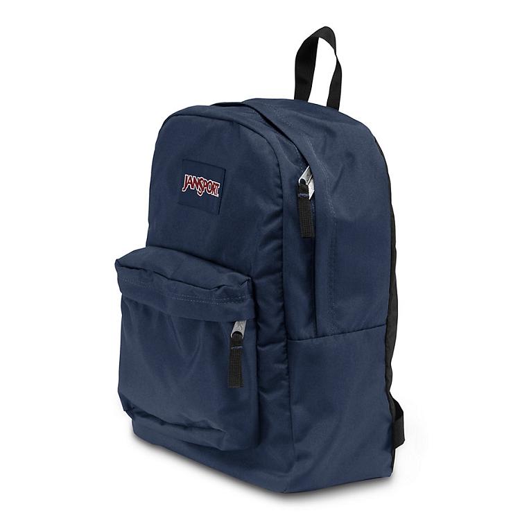 Jansport Superbreak Backpack Navy Ideal Baby