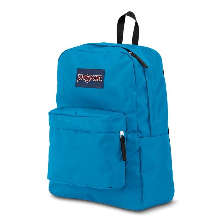 Jansport Superbreak Backpack Blue Crest Ideal Baby