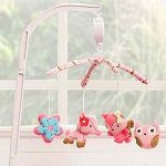 Kids Line Woodland Musical Mobile Girl