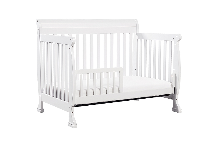 davinci kalani 4 in 1 convertible crib with toddler bed conversion