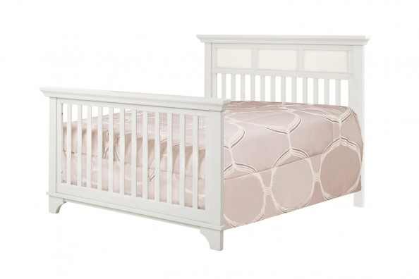 million dollar baby classic arcadia 4 in 1 convertible crib with toddler rail dove