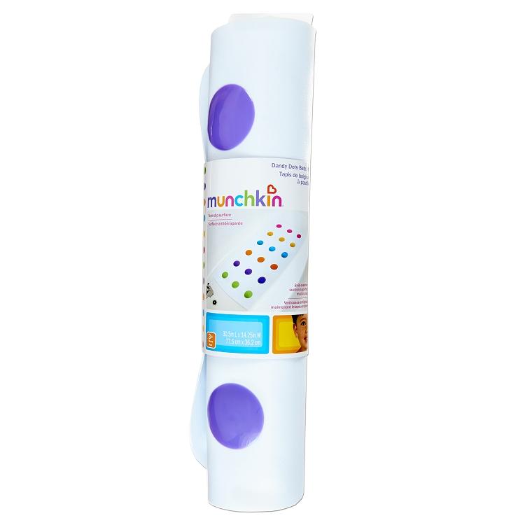 Munchkin Dandy Dots Super Grip Bath Mat Ideal Baby