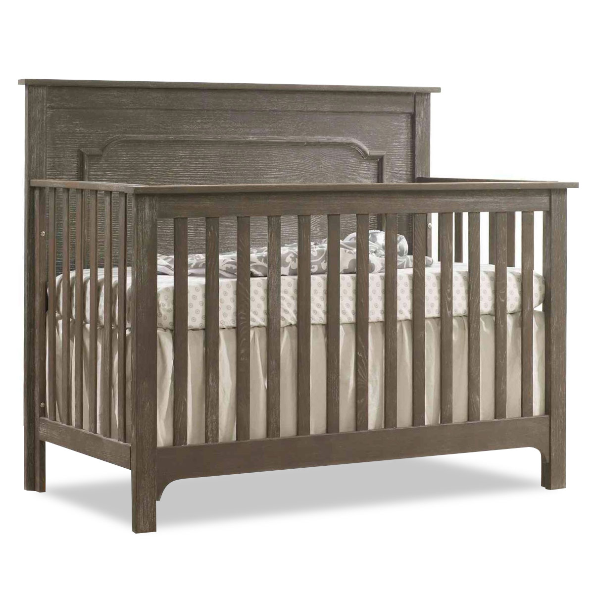 Nest juvenile emerson 5 in 1 convertible crib ideal baby for 5 in 1 bed