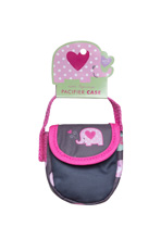 Cuddlie Accessories Noah Ark Pacifier Case Elephant