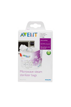 Phillips Avent Microwave Sterilizer Bag 5-Pack