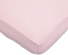 American Baby Knit Crib Sheet Pink 28