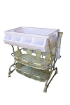Baby Diego Bathinette Deluxe Baby Bath & Changing Table Combo -Beige