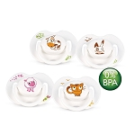 Philips Avent Animal Pacifier Soother, 2 Pack, 0-6 Months, BPA Free