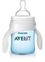 Philips AVENT Bottle to Cup Trainer Kit, Blue