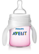 Phillips Avent Bottle to Cup Trainer Kit, Pink