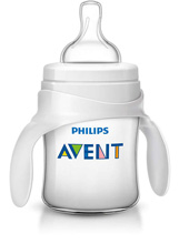 Philips AVENT Bottle to Cup Trainer Kit 4m+, Clear