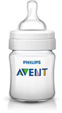 Phillips Avent Anti-Colic Bottle 4oz Clear