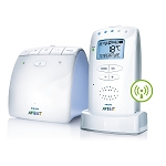 Philips Avent DECT Baby Monitor with Temperature Alert