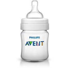 Philips AVENT Classic+ 4oz Baby Bottle Newborn Flow Nipple, 0m+