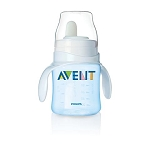 Philips Avent Bottle to First Cup Trainer 4M+- Blue