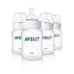 AVENT Anti-Colic Extra Value 4 Bottles BPA-free 9oz