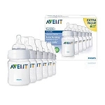 Avent-Philips Unique Anti-Colic System 9oz BPA-Free 6-Pack Feeding Bottles 1m+